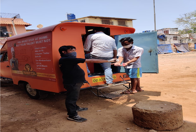 Mumbai: Mobile ATM van deployed for residents in containment zones