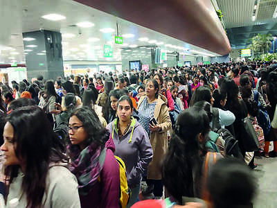 Long queues at Kempegowda International Airport? Those were due to a threat