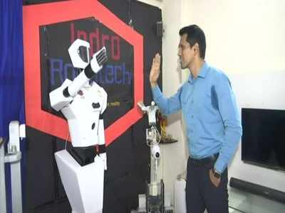 Mumbai innovator develops 3 robots to assist healthcare workers, patients amid COVID