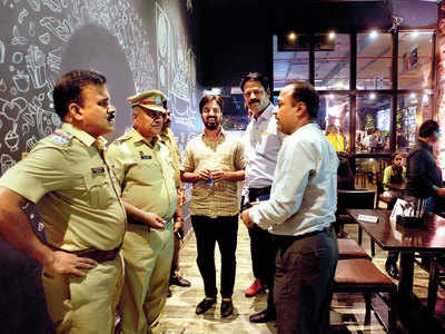 Cops play party poopers at KP