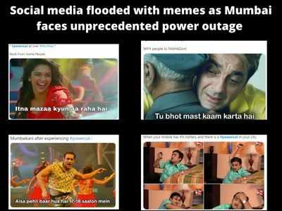 Social media flooded with memes as Mumbai faces unprecedented power outage