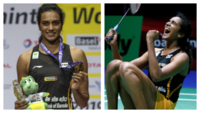 Warm welcome for PV Sindhu at Hyderabad, post gold win at BWF World Championships