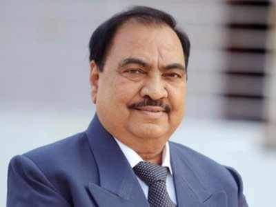 Eknath Khadse takes chopper to Mumbai as he prepares to join NCP, hints at dropping a 'bomb' on BJP
