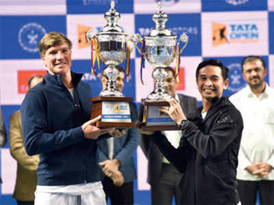 Andre Goransson and Christopher Rungkat claim first ATP Tour Title