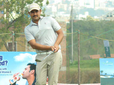 PGTI Golf: M Dharma and Aman Raj in joint halfway lead; Gaurav Pratap Singh rewrites course record at Golconda Masters