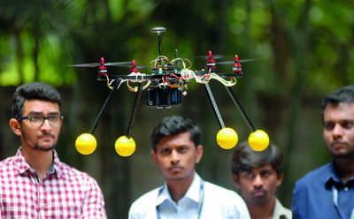 Dronentrepreneurs: Where else but in Namma Bengaluru
