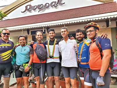 Persons with disability ride BRM of 200 km, finish under 11 hours