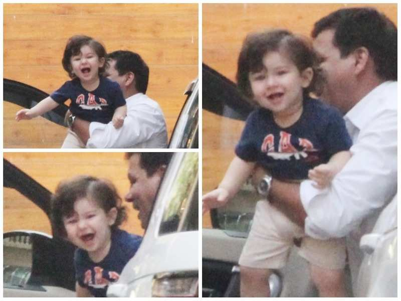 Taimur Ali Khan is all play and laughter