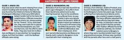 Aadhaar works wonderfully, ask these 3 children
