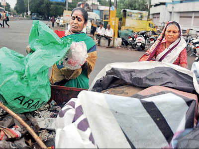 Citizens will now have to put out a third garbage bag for sanitary waste