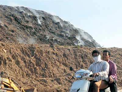 Breathe easy, garbage from Mt Pirana set to disappear soon
