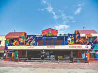 Mural at Tambaram railway station pays tribute to COVID-19 warriors