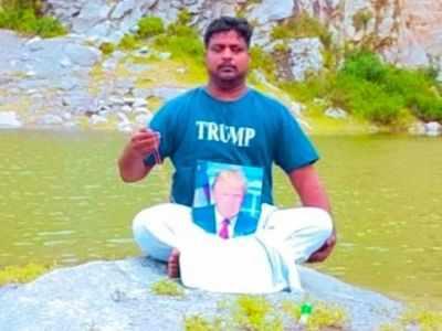 Donald Trump 'devotee' Bussa Krishna dies of cardiac arrest