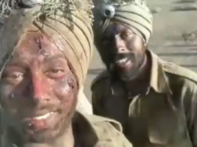 FACT CHECK: Viral video showing injured Indian Army men is staged