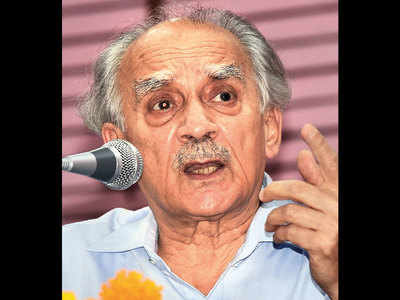 Ex-minister Arun Shourie hospitalised
