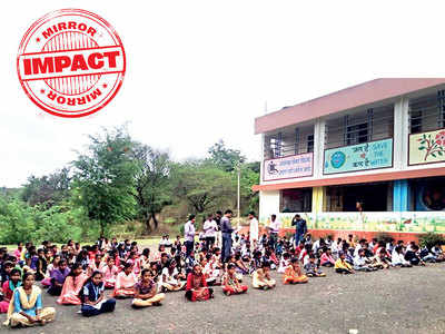 Mirror Impact: Tribal school in Khed taluka gets two tankers after it shut due to water crisis