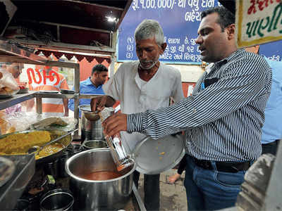 AMC health teams raid pani puri outlets in city