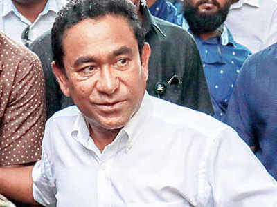 Ex-Maldives president gets five years in prison