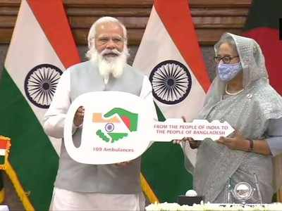 PM Modi's Bangladesh visit live updates: Wanted to visit Orakandi Temple for long, says PM Modi