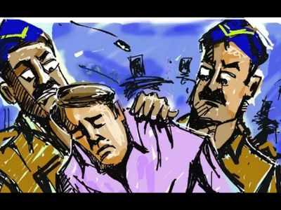 Goa cops attacked by drunk men, two held