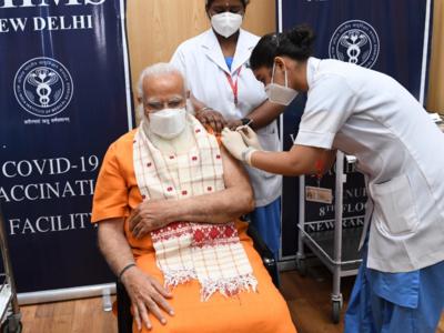 PM Modi receives second dose of COVID-19 vaccine