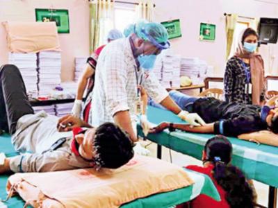 Plasma donation: Valad residents set an example