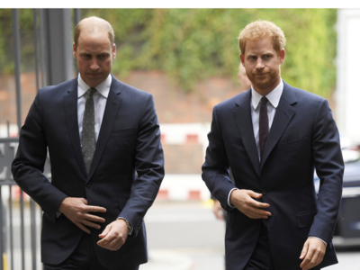Prince William and Prince Harry slam 'false' story about their relationship