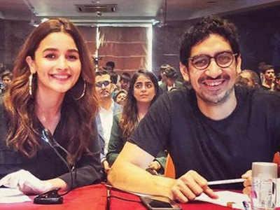 Alia Bhatt and Ayan Mukerji go back to school