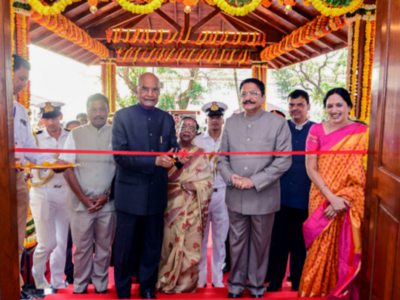 President Ram Nath Kovind inaugurates presidential guest house in Mumbai