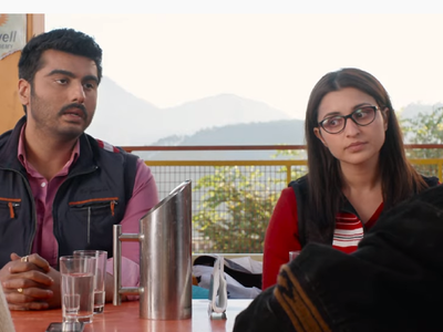 Sandeep Aur Pinky Faraar trailer: Arjun Kapoor and Parineeti Chopra are on the run in this dark comedy