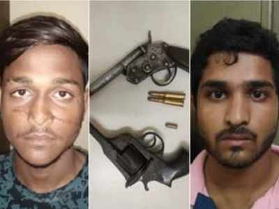 Pimpri-Chinchwad crime branch arrests two wanted criminals