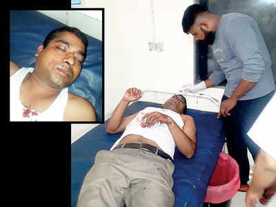 Sanaswadi company employee assaulted