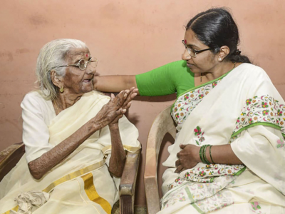 After PM Modi's praise, 'oldest learner' Bhageerathi Amma set to get Aadhaar card