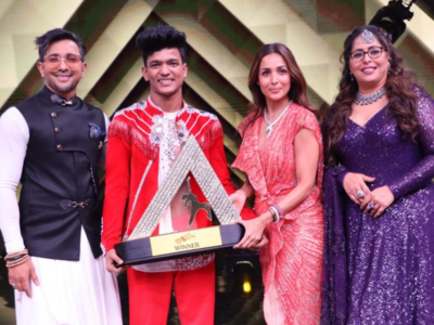 India's Best Dancer: Tiger Pop lifts the trophy, says 'Adulation cannot be taken for granted'