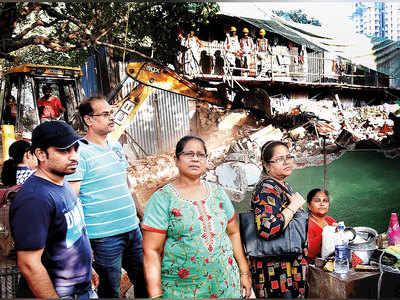 Third-gen owners slumming it as bungalows demolished