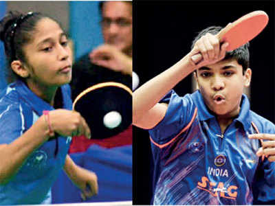 Dhairya, Kausha take pole position