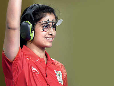 Manu Bhaker juggles between shooting and studies ahead of Board exams