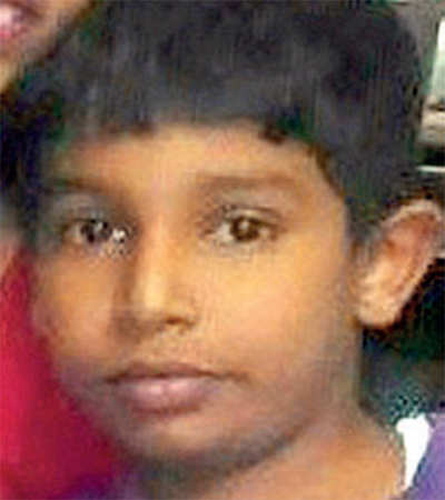 Nine-year-old boy run over by bus