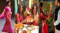 Karwa Chauth: From Mira Rajput to Shilpa Shetty Kundra, Bollywood divas celebrate the festival in style