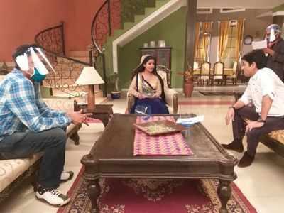 Bhabhiji Ghar Par Hai resumes shoot; Shubhangi Atre, Yogesh Tripathi talk about the 'new normal'
