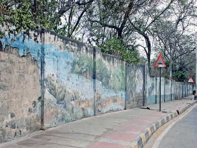 Bring down the wall, let Lalbagh be visible to all?