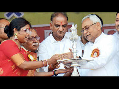BJP gives a miss to Bihar CM Nitish Kumar's event