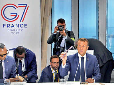Eco-friendly watches handed out at G7 summit in France have a Pune connection