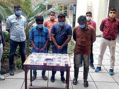 Ahmedabad rural SOG nab three for selling narcotic drinks in Sanand, Bavla