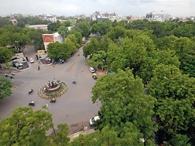 With 18 new 'green lungs', Amdavadis to… BREATHE EASY