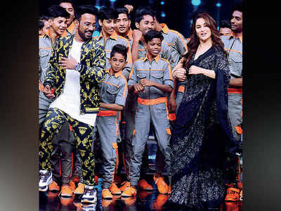 Ek-do-teen again for Madhuri Dixit