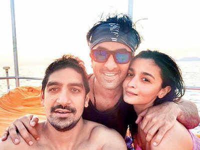 Alia Bhatt, Ranbir Kapoor and Ayan Mukerji's vacation comes to an end