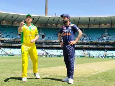 India vs Australia 1st ODI: Australia opt to bat against India at SCG