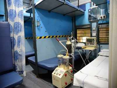 Photos: Railways coverts coaches into isolation wards for COVID-19 patients