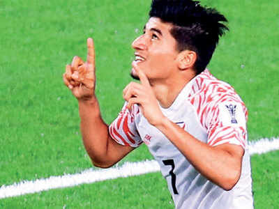 Anirudh Thapa: I still remember the scolding I got from Sunil Chhetri